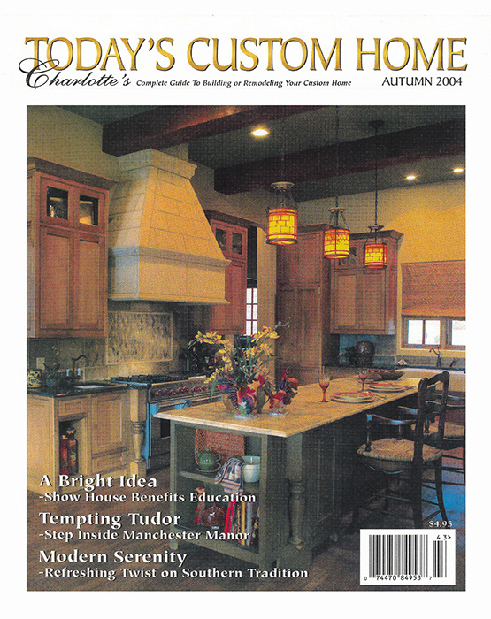 Today's Custom Homes Cover Feature